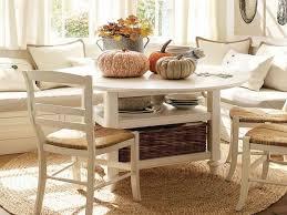 White Kitchen Nook Sets