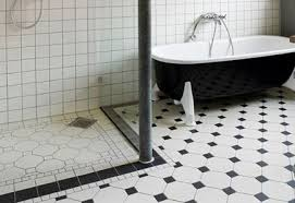 brilliant bathroom design ideas black and white bathroom floor