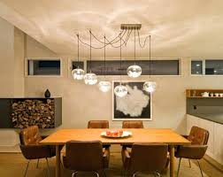 Lighting For Dining Room Tables Bathroom Appealing Modern Table Flush Mount Ceiling Lights Pendant