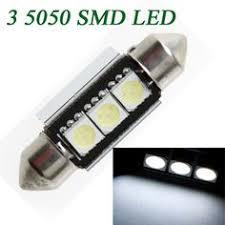 10 x 2W COB Festoon LED Light Car Interior Dome Licence Plate
