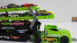 Car Toy Videos For Kids - Dump Trucks, Car Transporter - Cars Toys ...