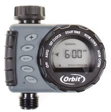 amazon com orbit digital hose sprinkler irrigation timer for