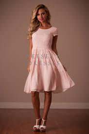 pale pink isabel modest dress by mikarose trendy modest dresses