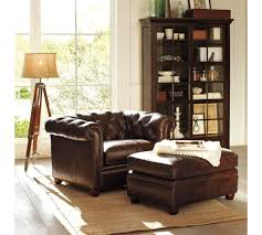 Chesterfield Leather Ottoman - Pottery Barn | Home Sweet Home ... Next Sherlock Leather Armchair Sitting Room Pinterest Pottery Barn Turner Leather Sofa Colonial Style Decor In A Beautiful Vintage Inspired Outback Tan The Tobin Now On Sale Turner Chair The Chair Beautifully Pottery Barn Sofa Glamorous Cool Best 60 For Sofas And Couches Brown Wingback Brass Side Table Excited For My Chesterfield Ottoman Home Sweet 100 Sleeper Five Without Huntsman In Old Bard Harris Tweed Loden Http Industrial Chairs Armchairs Fniture Pib Erik Wing Sinks Shapes