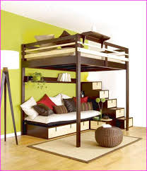 plans for loft bed with stairs
