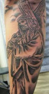 Jesus Carrying The Cross Tattoo