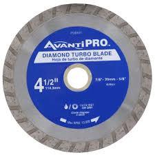Plasplugs Diamond Wheel Wet Tile Saw by Avanti Pro 4 1 2 In Turbo Diamond Blade Hd T45s8 The Home Depot