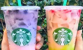 Starbucks Secret Menu Has New Tie Dye Drinks