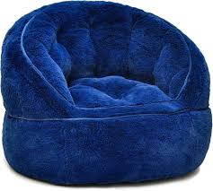 Heritage Kids Toddler Rabbit Fur Bean Bag Chair, Navy Shop Regal In House Bean Bag Chair Navy S Online In Dubai Lifestyle Vinyl Blue Bean Bags Twist Stripes Outdoor Amazoncom Wild Design Lab Elliot Cover 6foot Microfiber And Memory Foam Coastal Lounger Nautical And White Buy Large Comfort Seating Fniture For Classic Fully Comfortable Washable Velvet Can Bean Bags Denim With Piping Ftstool Blue Lounge Pug Denim Adult Beanbags Inflatable Lazy Air Bed Couch Sofa Hangout