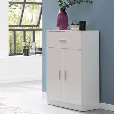 finebuy highboard fb52343 weiß hochglanz 60x90x30 cm design holz anrichte hohes sideboard mit schubladen und türen wohnzimmer mehrzweckschrank