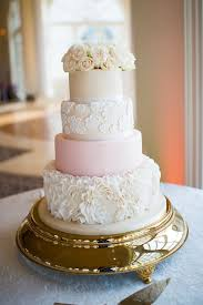 Ruffles And Lace Wedding Cake Morais Vineyards