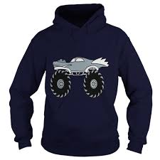 100 Monster Truck Shirts Small Cool Hoodie