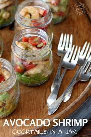 Avocado Shrimp Cocktails In A Jar | Recipe | Individual Appetizers ... Best 25 Outdoor Party Appetizers Ideas On Pinterest Italian 100 Easy Summer Appetizers Recipes For Party Plan A Pnic In Your Backyard Martha Stewart Paper Lanterns And Tissue Poms Leading Guests Down To Freshments Crab Meat Entertaing 256 Best Finger Foods Ftw Images Foods Bbq House Wedding Hors Doeuvres Hors D 171 Snacks Appetizer Recipe Ideas Southern Living Roasted Fig Goat Cheese Popsugar Food