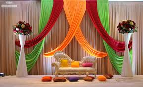 Wedding Ideas Elegant Stage Decoration For Flower Pertaining To Simple
