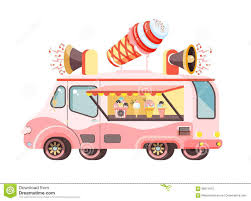 100 Ice Cream Truck Prices Vector Illustration Isolated Car With Refrigeration Unit For
