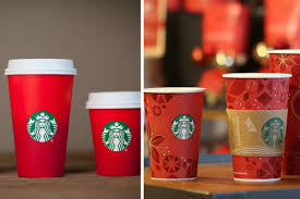 Starbucks 2015 Holiday Cups Vs The More Festive 2013 Version