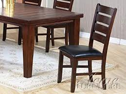 Set Of 2 Dining Chairs In Cherry Finish