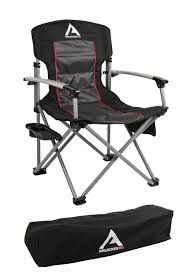 ARB 10500111A Camping Chair Incl. Extruded Aluminum Armrests/Locking  Catches/Drink Holder Side Tray/Side Pocket/Magazine Pocket/Carry Bag  Camping ... Pnic Time Red Alinum Folding Camping Chair At Lowescom Extra Large Directors Tan Best Choice Products Zero Gravity Recliner Lounge W Canopy Shade And Cup Holder Tray Gray Timber Ridge 2pack Slimfold Beach Tuscanypro Hot Rod Editiontall Heavy Duty Director Side Tray29 Seat Height West Elm Metal Butler Stand Polished Nickel Replacement Drink For Chairs By Your Table Sports Hercules Series 1000 Lb Capacity White Resin With Vinyl Padded