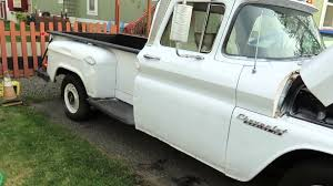 1953 Chevy Truck Radiator New Old 1960 Chevy Apache Truck 1 2 Ton ...