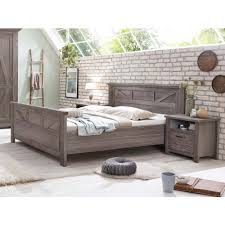 landhausstil modern schlafzimmer set kiefer braun baltic mit 5tr schrank