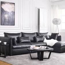 2017 New Bean Bag Chair Beanbag Hot Sale Modern Leather Sofa Set Living Room Sectional
