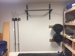 Diy Heavy Bag Ceiling Mount by Stud Bar Ceiling Or Wall Mounted Pull Up Bar
