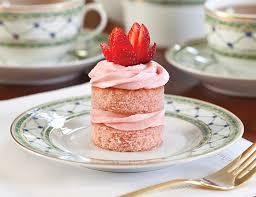 Strawberry Jam Cakes TeaTime Magazine