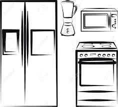 Kitchen Clipart Stove 12