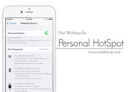 Personal HotSpot Missing in iOS 10