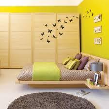 Bedroom Decor Yellow Walls