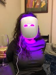 Neutrogena Acne Light Mask Does It Work We Tried It