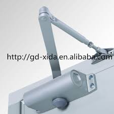 Heavy Duty Aluminum Silent Install Door Closer Industrial Door