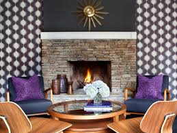 Living Room With Fireplace Design by Cozy Fireplaces Hgtv