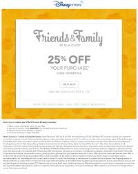 Disney Store Coupons - 25% Off Online At Disney Store Via ...