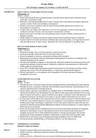 Download Food Service Manager Resume Sample As Image File