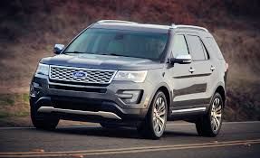 Ford Explorer Captains Chairs Second Row by 2016 Ford Explorer Priced New Platinum Model Added U2013 News U2013 Car