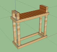 built a firewood rack for 1 2 rick w photo the bbq brethren forums