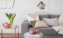 pink kupfer grau holz und marmor die wohntrends 2018