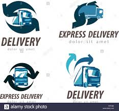 100 Truck Or Car Delivery Vector Logo Design Template Truck Or Car Icon Stock Vector