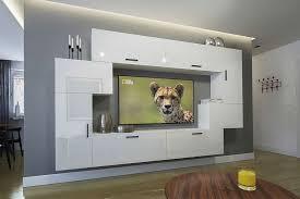 möbel für wohnzimmer weiß und glänzend orlean nx 6