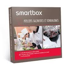 smartbox cours de cuisine smartbox coffret cadeau ateliers culinaires et œnologiques
