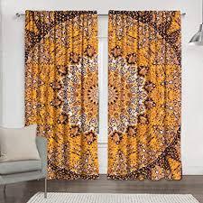 black gold tapisserie wohnzimmer vorhänge für schlafzimmer zimmer blackout vorhänge hippie balkon sheer raumteiler fenster behandlungen