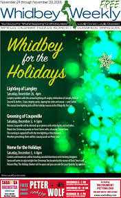 Jefferson County Co Christmas Tree Permits by Whidbey Weekly November 24 2016 By Whidbeyweekly Com Issuu