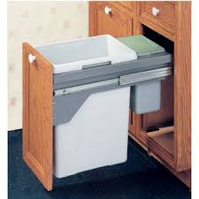 Under Cabinet Trash Can Pull Out by Hafele Trash Cans And Recycle Bins Kitchensource Com