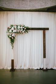 Simple Altar Decorations Wedding