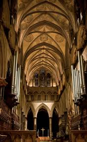 Up Lighting For Cathedral Ceilings by Low Carbon Lighting Of Cathedrals