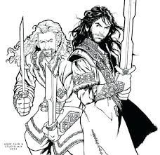 Free Printable Hobbit Coloring Pages The At