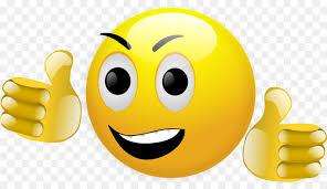Smiley Emoticon Thumb Signal Clip Art