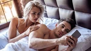 sexualität hilfe das smartphone hat das schlafzimmer