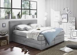 boxspringbett webstoff 180 200 cm inkl bettkasten matratze